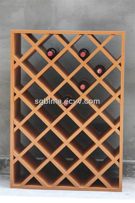 fashion wine rack in particle board mdf plywood