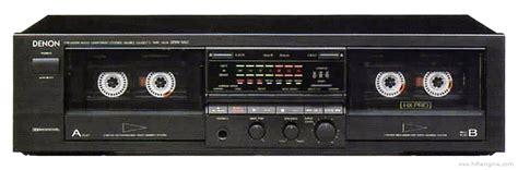 Denon Drw 650 Manual Double Cassette Deck Hifi Engine