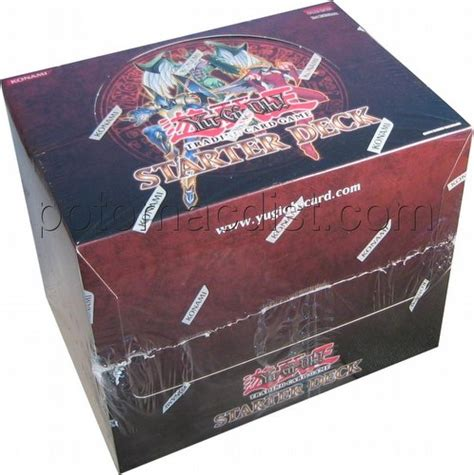 yugioh deck box yu gi oh 2006 starter deck box potomac distribution