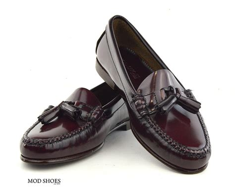 oxblood tassel loafers oxblood tassel loafer with leather sole the
