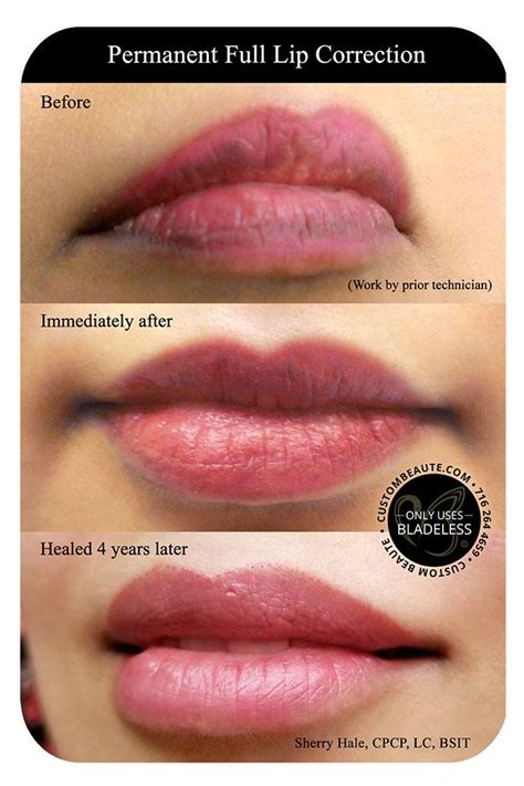 permanent lip color permanent in amherst buffalo and western new york