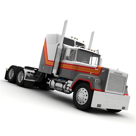 Mack Superliner Sleeper by Lightwave Mack Superliner Truck Aerodyne