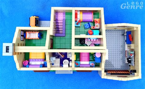lego house floor plan the lego simpsons house review 71006 don t have a cow man