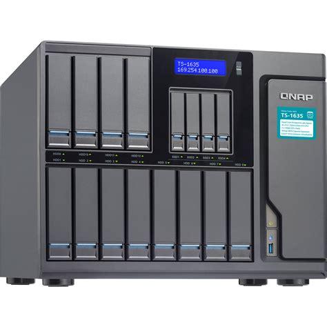 Nas Server qnap ts 1635 16 bay nas server ts 1635 8g us b h photo