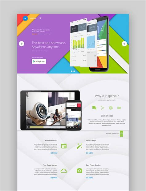 themes mobile software 17 best mobile app software wordpress themes for 2017