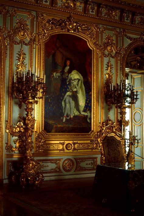 palace interior chateau de versailles king louis xiv the sun king who