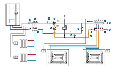 wiring diagram for underfloor heating and radiators 51