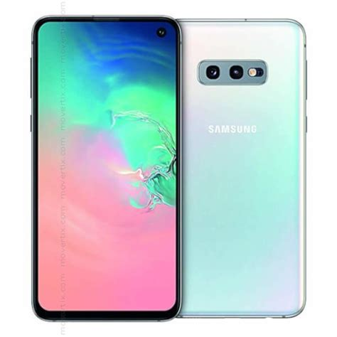 Hp Samsung Galaxy S10e by Samsung Galaxy S10e Dual Sim Prism White 128gb And 6gb Ram Sm G970f Ds 8801643698133