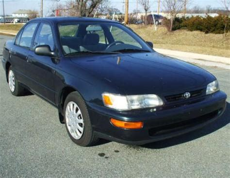 Toyota Corolla 5000 For Sale Economy Sedan For Less Than 5000 In Md Toyota Corolla