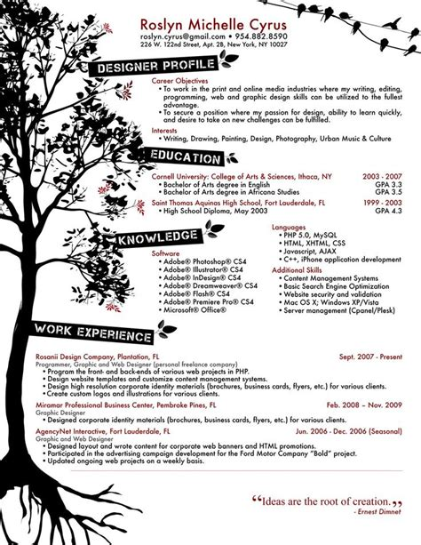 graphic designer resume format indian style 127 best cv resume portfolio images on resume curriculum and resume cv