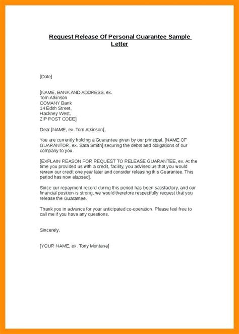 letter termination bank guarantee template payment guarantee letter template sle release