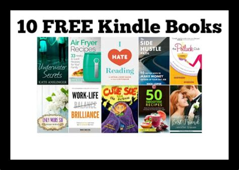 free books 10 free kindle books 4 19 deal