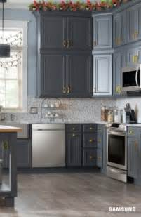 Rustic Grey Kitchen Cabinets by Grey Cabinets Foter