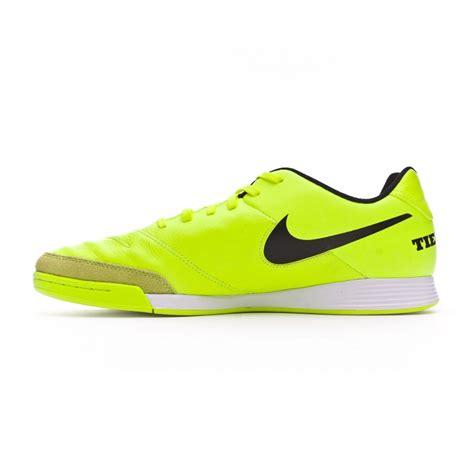 Sepatu Futsal Nike Tiempox Genio 2 Leather Ic Putih Hijau Original New chaussure de futsal nike tiempox genio leather ii ic volt