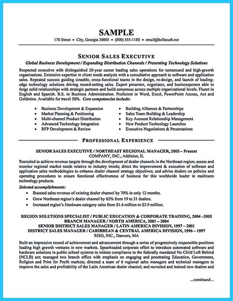 sle of a resume writing a clear auto sales resume