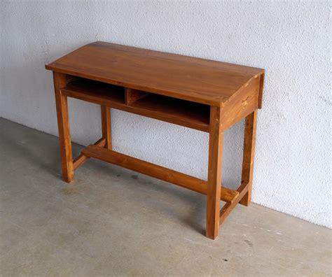 Meja Kantor Panjang meja sekolah panjang model miring depan jual meja dan