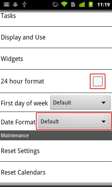 format date android date time format 1 0 175 for android