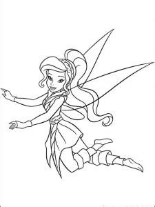 Printable Tinkerbell Coloring Pages For Kids - Free