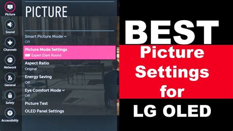 best oled lg oled best picture settings day and hdr