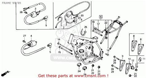 honda xlr 125 r wiring diagram honda electrical wiring
