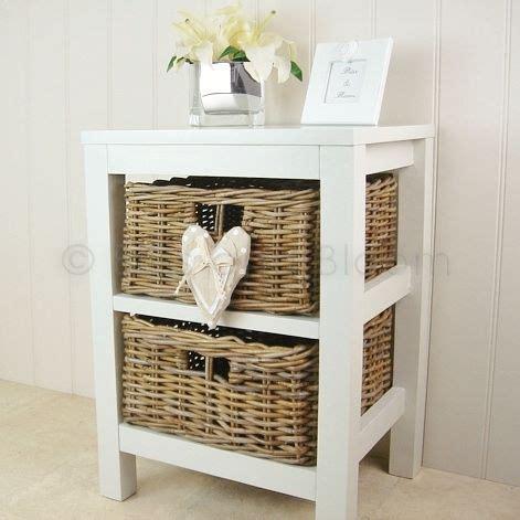 Basket Shelf Storage Unit by 2 Willow Basket Storage Unit Bliss And Bloom Ltd