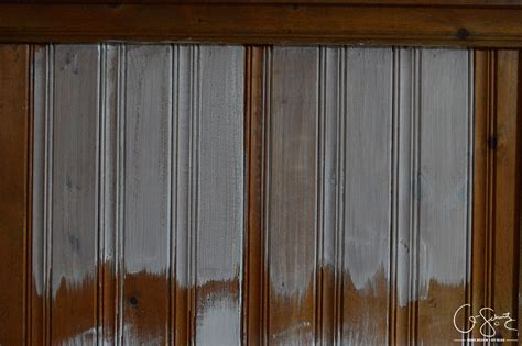 whitewashed wood paneling painting vs whitewashing panelling and brick madness