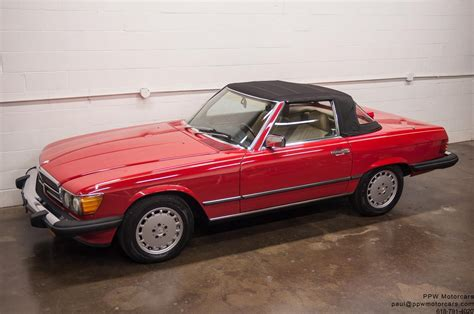 electric power steering 1987 mercedes benz sl class regenerative braking 1987 mercedes benz sl class 560sl 89 968 miles signal red 2 owners classic mercedes benz sl