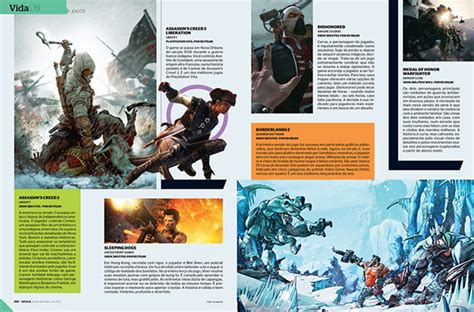 Layout Majalah Game | inspirational and attractive magazine page layouts