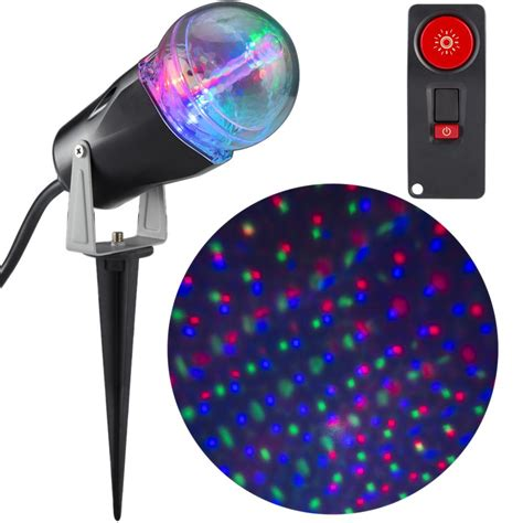 lightshow projection points of light lightshow applights projection spot light stake 37871