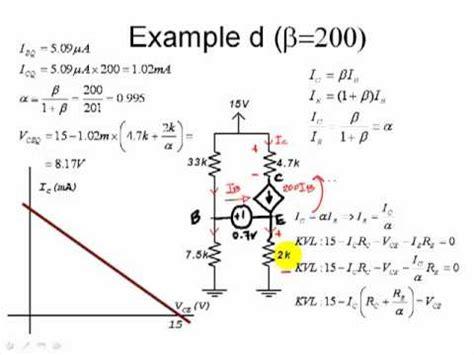 fet transistor ac analysis eece 251 bjt ac load line vs dc load line