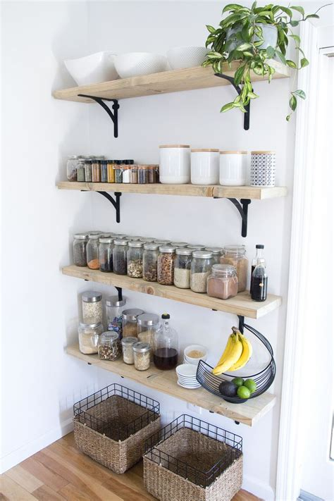 kitchen shelving ideas pinterest best 10 kitchen wall shelves ideas on pinterest open