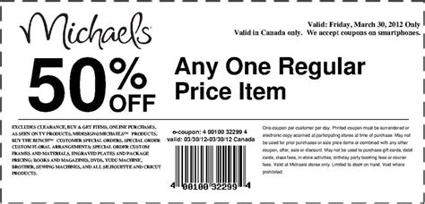 michaels coupon june 2018 canada