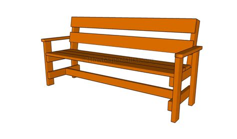 how to make a garden bench seat how to build a garden bench howtospecialist how to build step by step diy plans