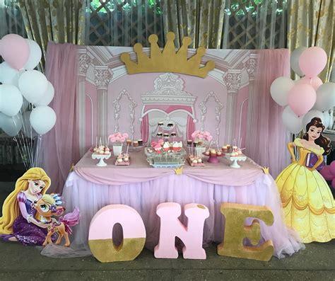 fiesta princesa  nina  ano decoracion de interiores