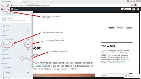 tutorial wordpress indonesia tutorial membuat e modul berbasis blog wordpress guru