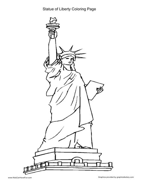statue of liberty coloring page statue liberty coloring page sketch coloring page
