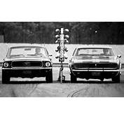1968 Tunnel Port Ford Mustang Vs Chevrolet Camaro Z/28