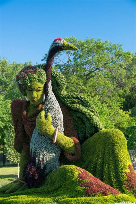 Montreal Botanic Garden Mosaicultures Internationales Mosa 239 Cultures Internationales De Montr 233 Al Opens At Montreal