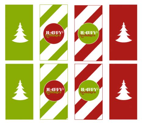 best photos of christmas candy bar wrapper template free