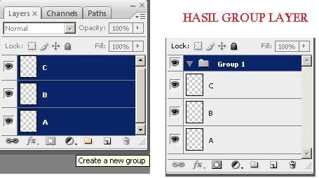 kumpulan tutorial adobe photoshop fungsi palet layers pada adobe photoshop kumpulan tutorial