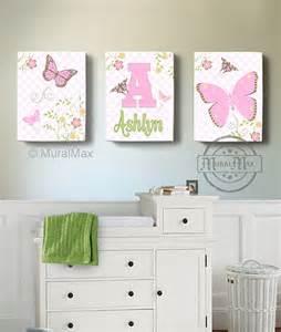 Butterfly Nursery Decor Butterfly Canvas Wall Butterfly Nursery By Muralmax