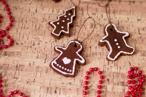 edible gingerbread cinnamon ornaments   fun