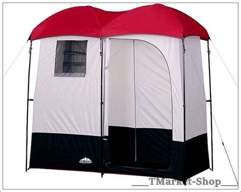 2 Room Shower Tent by Cing Shower Room Changing Shelter Privacy