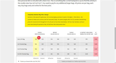 ual newest member of the free to fee club travel news airlines baggage fees update to spirit airlines baggage fees
