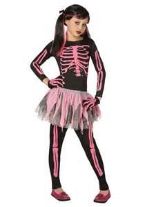 ebay girls halloween costumes girls pink punk skeleton costume ebay
