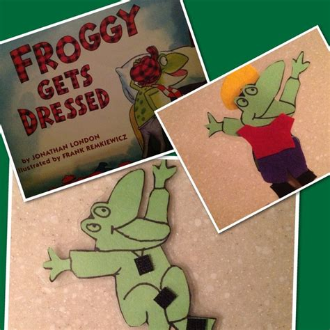 froggy gets dressed template quot froggy gets dressed quot puppet with changeable clothes it