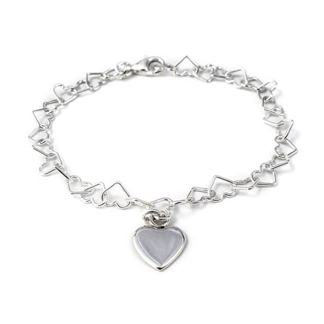 Tales From The Earth Silver Bracelet At Asos by Silver Linked Bracelet With Charm Tales From