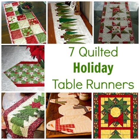 free pattern for christmas tree table runner 7 quilted holiday table runners quilting