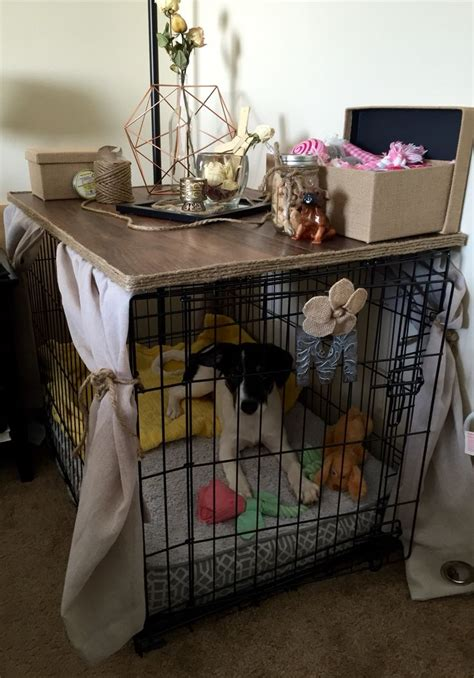 dog crate table top diy dog crate table top woodworking projects plans