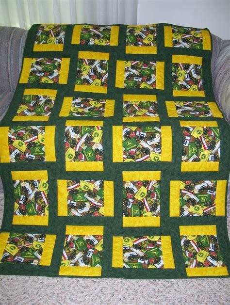 Deere Quilt by Deere Quilt For An Avid Collector Quilts